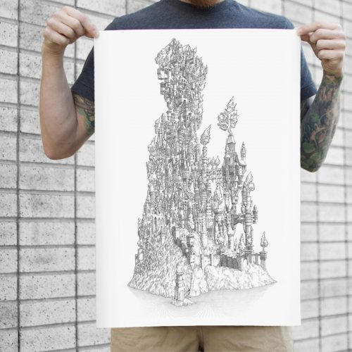 large colour print of a delicate balance the kingdom for sale to buy
