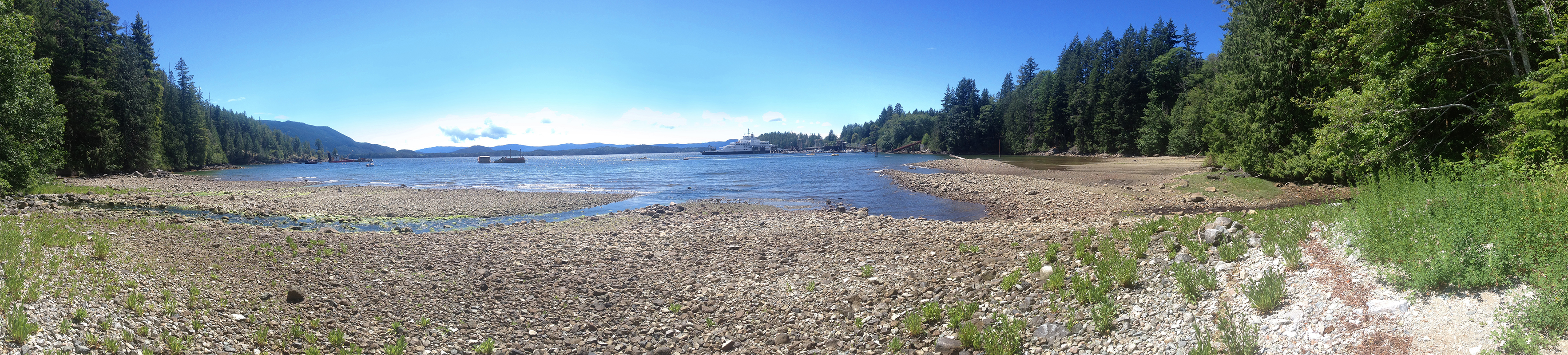 photograph of saltery bay on the sunshine coast near vancouver