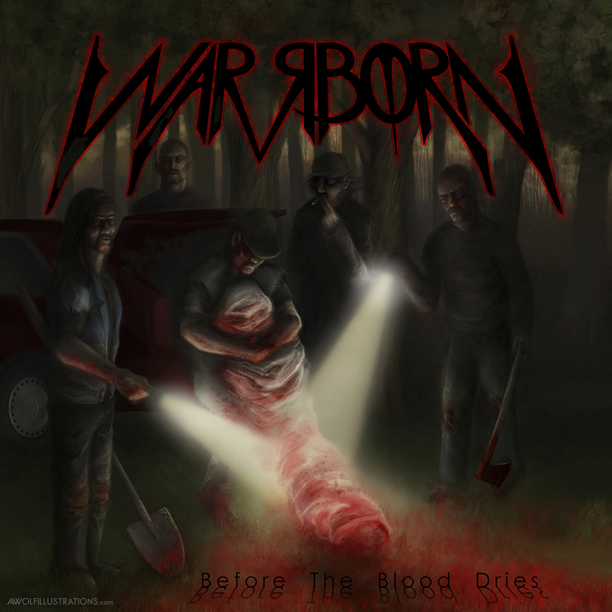 WARRBORN Album Artwork and a whole lot of Album Covers and Shirt