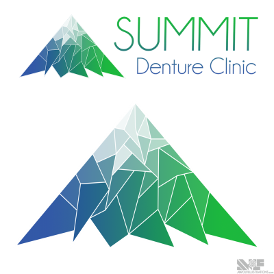 Simple and clean logo design for a clinic operating out near the mountains inland of Vancouver in the Fraser Valley