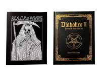 2 books by Out of Step. Black and White: Volume 5 and Diabolico II