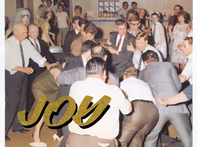 The second album for the UK outfit IDLES, Joy as an Act of Resistance