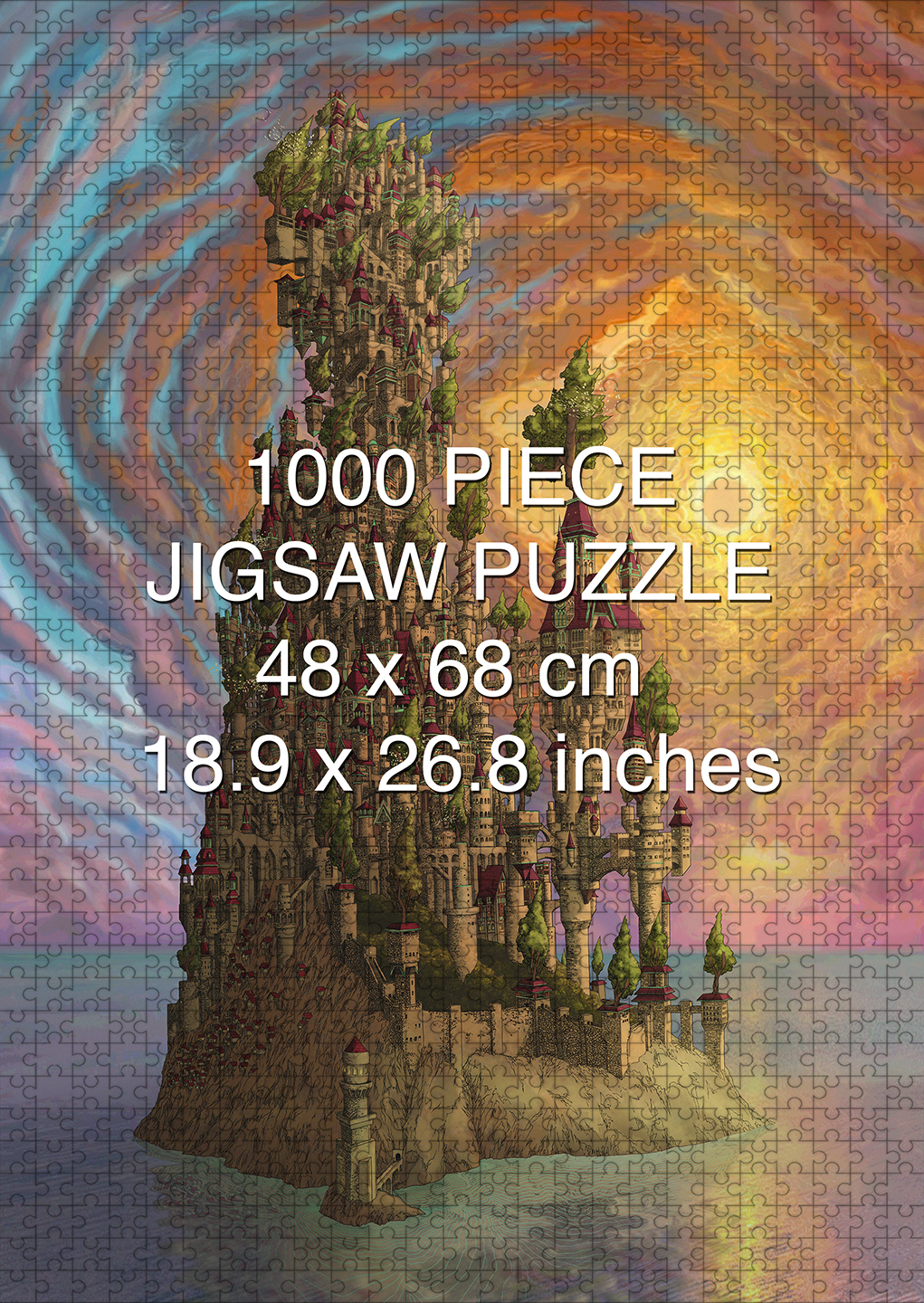 A Delicate Balance: The Kingdom 1000 piece puzzle by Aaron Wolf and Pandemic Puzzles